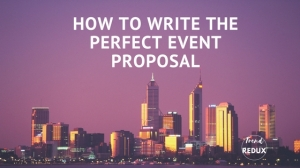 Event Proposals, Making Event Plans, Planning Events